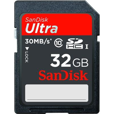 SanDisk Ultra SDHC 30MB/s 32GB