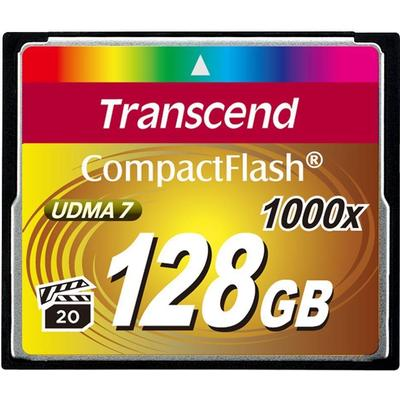 Transcend Ultimate Compact Flash 128GB (1000x)