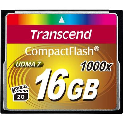 Transcend Ultimate Compact Flash 16GB (1000x)