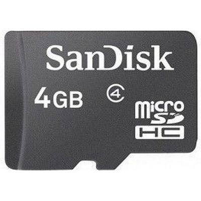 SanDisk MicroSDHC Class 4 4GB