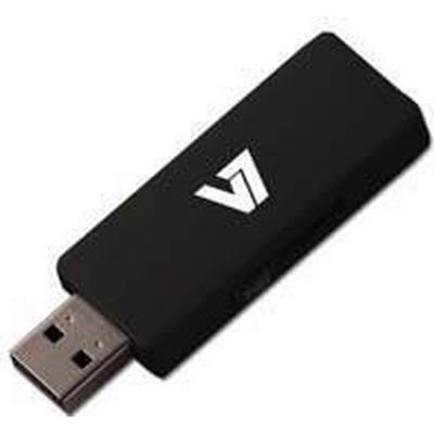 V7 Slide-In 8GB USB 2.0