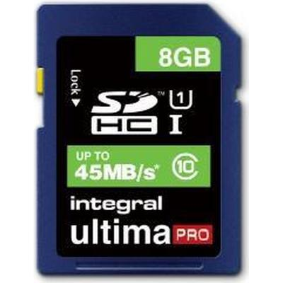 Integral UltimaPro SDHC 45MB/s 8GB