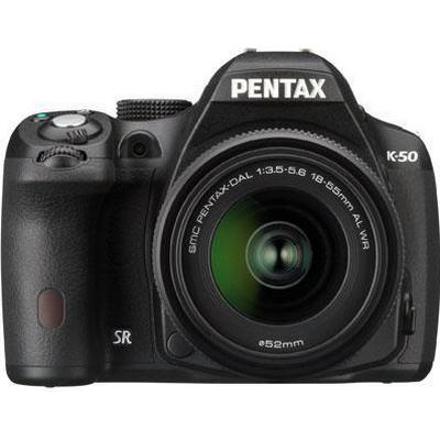 Pentax K-50 + 18-55mm