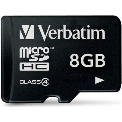 Verbatim MicroSDHC Class 4 8GB