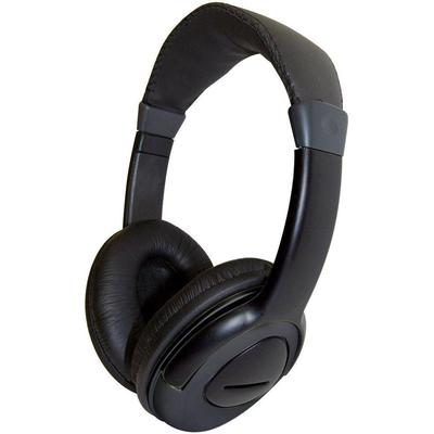 Computer Gear Multimedia Stereo Headset Featuring Inline Microphone