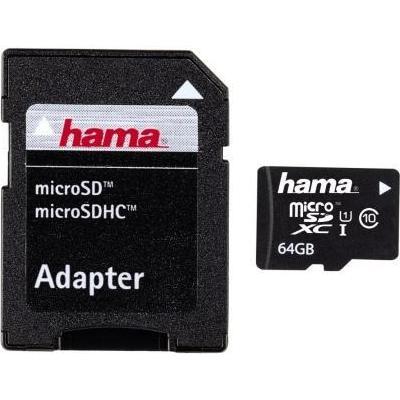 Hama MicroSDXC UHS-I 64GB