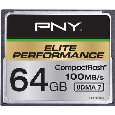 PNY Elite Performance Compact Flash 100MB/s 64GB