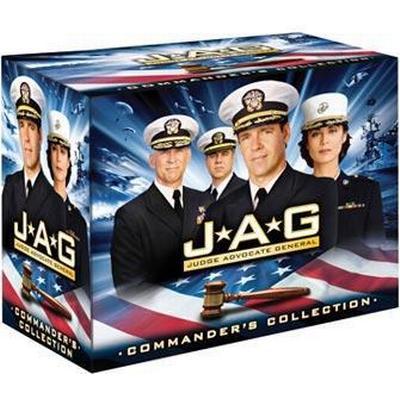 JAG: På heder och samvete / Säsong 1-10 (DVD 1995-2004)