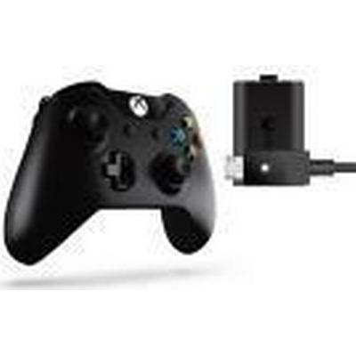 Microsoft Xbox One Wireless Controller + Play & Charge