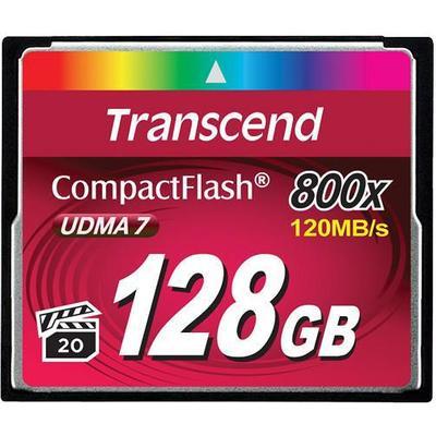 Transcend Compact Flash UDMA 7 128GB (800x)