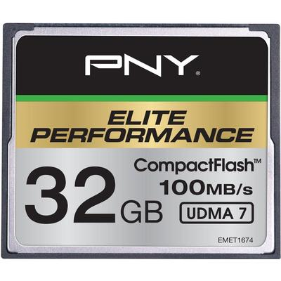 PNY Elite Performance Compact Flash 100MB/s 32GB