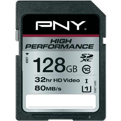 PNY SDXC High Performance 80MB/s 128GB
