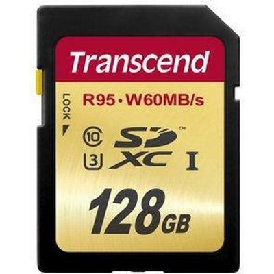 Transcend SDXC UHS-I U3 95/60MB/s 128GB