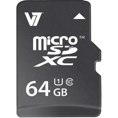 V7 MicroSDXC UHS-I U1 64GB