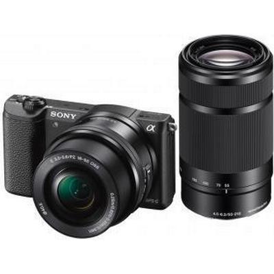 Sony Alpha 5100Y + 16-50mm + 55-210mm