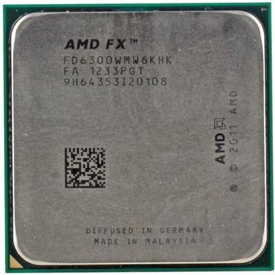 AMD FX 6-Core Black Edition FX-6300 3.5GHz Tray