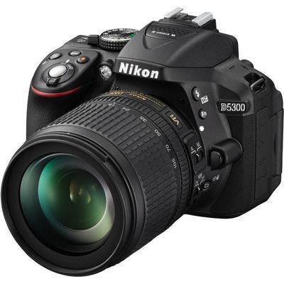Nikon D5300 + 18-105mm