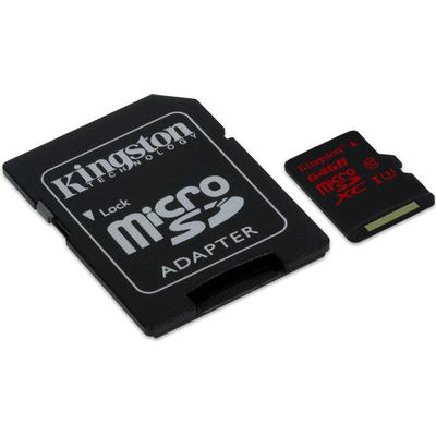 Kingston MicroSDXC UHS-I U3 64GB