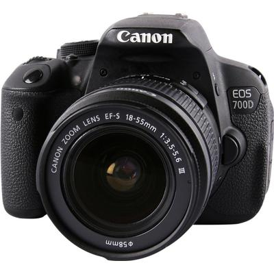 Canon EOS 700D + 18-55mm