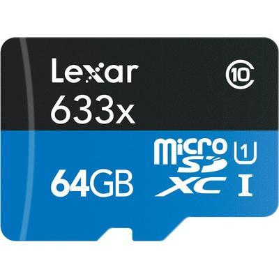 Lexar Media MicroSDXC UHS-I 64GB (633x)
