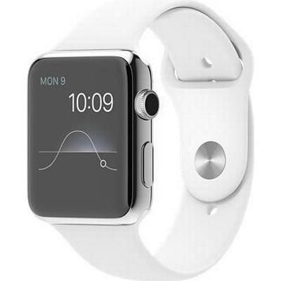 Apple Watch Series 1 42mm Stainless Steel Case with Sport Band
