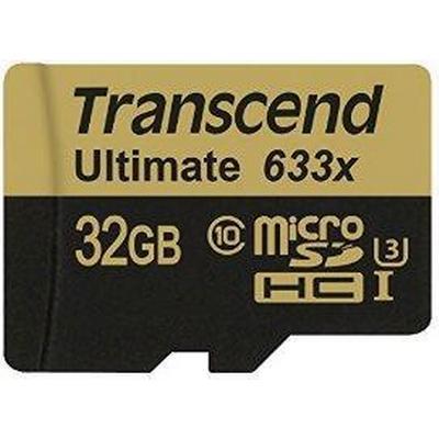 Transcend Ultimate MicroSDHC UHS-I U3 32GB (633x)