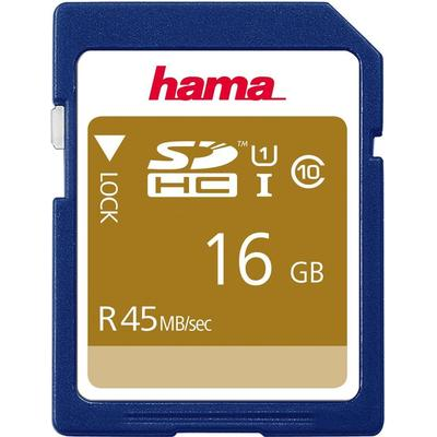 Hama SDHC 45MB/s 16GB