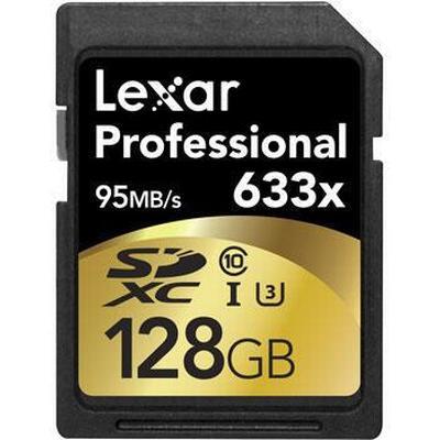 Lexar Media SDXC Professional UHS-I U3 95MB/s 128GB (633x)