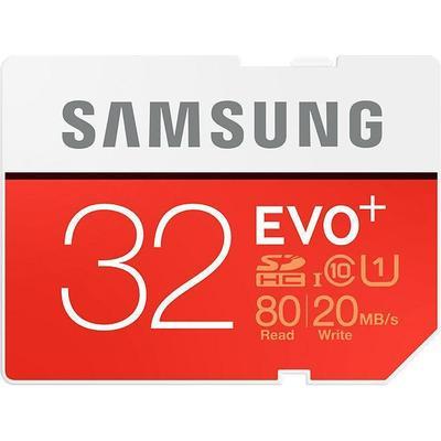 Samsung Evo+ SDHC UHS-I U1 80/20MB/s 32GB