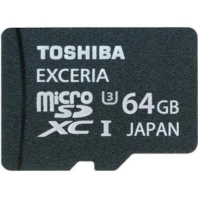 Toshiba Exceria microSDXC UHS-I U3 64GB