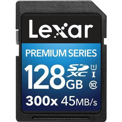 Lexar Media Premium SDXC UHS-I U1 45MB/s 128GB (300x)