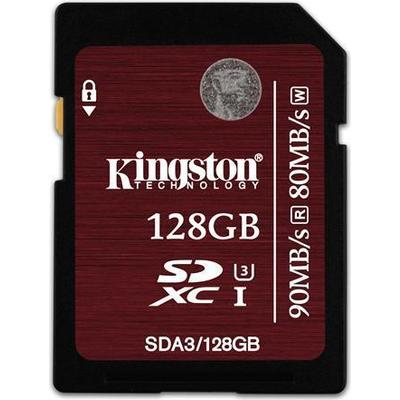Kingston SDXC UHS-I U3 90MB/s 128GB