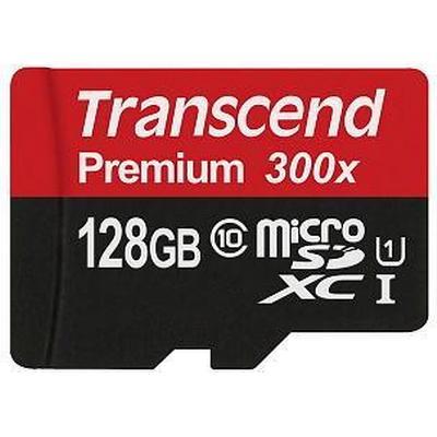Transcend MicroSDXC Premium UHS-I U1 128GB (300x)