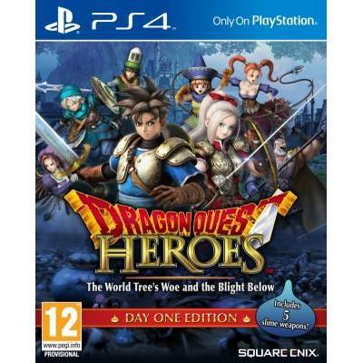 Dragon Quest Heroes: The World Tree's Woe and the Blight Below - Day One Edition