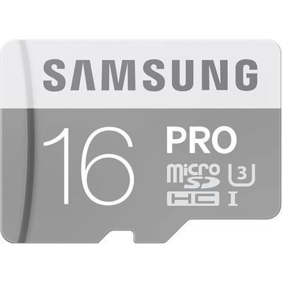 Samsung MicroSDHC Pro UHS-I U3 16GB