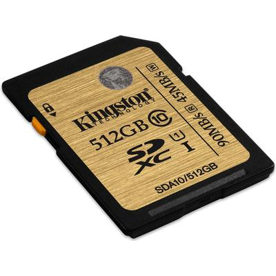 Kingston SDXC UHS-I U1 90/45MB/s 512GB