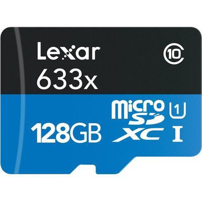 Lexar Media MicroSDXC UHS-I U1 128GB (633x)