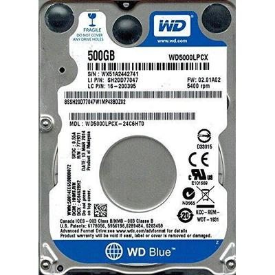 Western Digital Blue WD5000LPCX 500GB