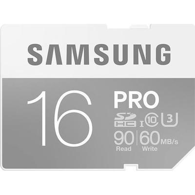 Samsung SDHC Pro UHS-I U3 95/60MB/s 16GB