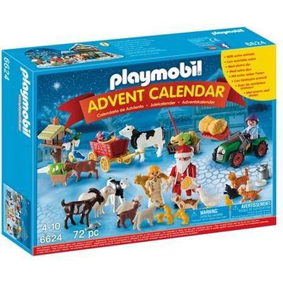 Playmobil Advent Calendar - Christmas on the Farm 6624
