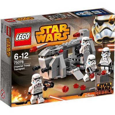 Lego Star Wars Imperial Troop Transport 75078