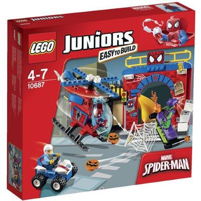 Lego Juniors Spider-Man Hideout 10687