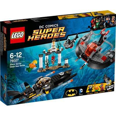 Lego Super Heroes Black Manta Deep Sea Strike 76027
