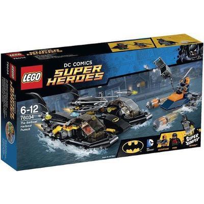 Lego Super Heroes The Batboat Harbor Pursuit 76034