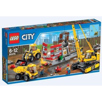 Lego City Demolition Site 60076