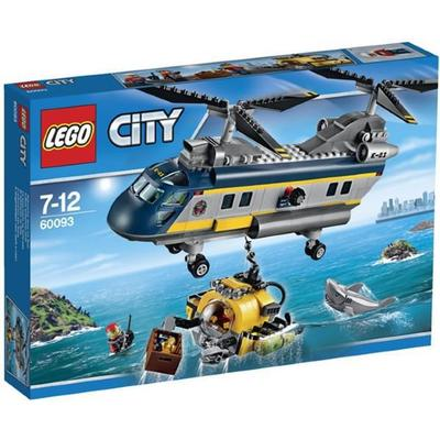 Lego City Deep Sea Helicopter 60093