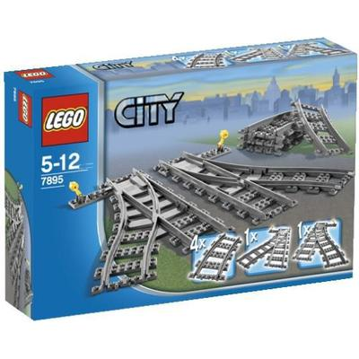 Lego City Switching Tracks 7895