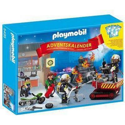 Playmobil Advent Calendar Fire Rescue Operation 5495
