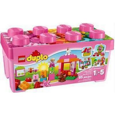 Lego Duplo All-in-One-Pink-Box-of-Fun 10571