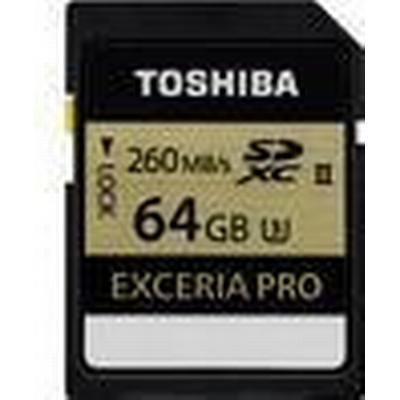 Toshiba Exceria Pro SDXC UHS-II U3 260MB/s 64GB